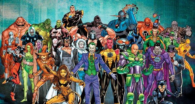 DC Villains – The Best In The Business by Max Byrne