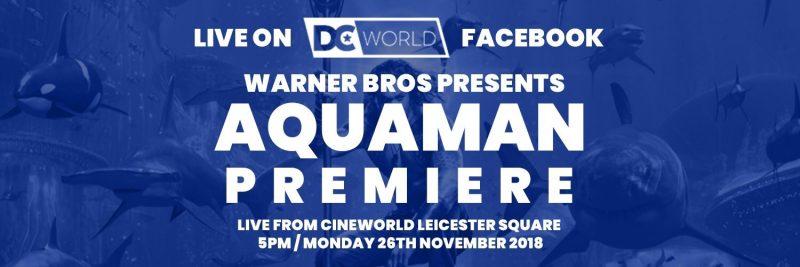Aquaman London Premiere Live Stream