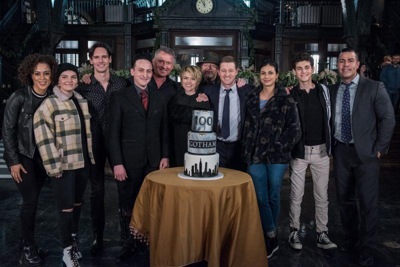 "Gotham Season 5 Episode 9 Legend Of The Dark Knight ""The Trial Of Jim Gordon""."